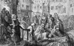 With Globalization Contributing to the Spread of the Bubonic Plague, How Did It Affect People Physically and What Did They To About it?